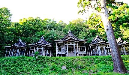 男鹿 赤神神社五社堂