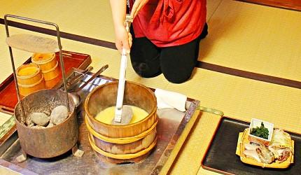 元湯雄山閣男鹿鄉土料理石燒海鮮鍋