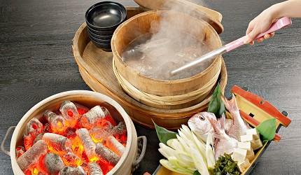 男鹿半島鄉土料理石燒海鮮鍋