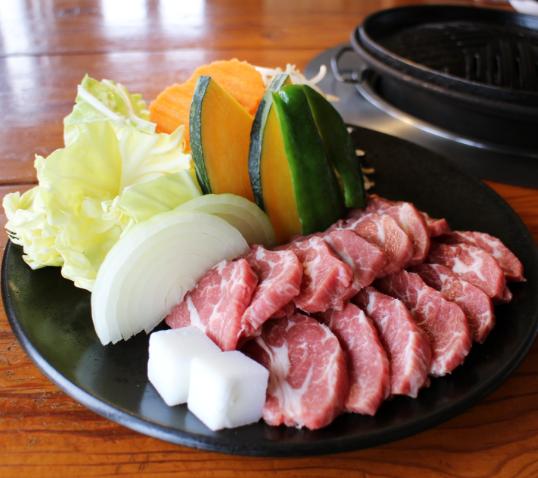 日本東北美味的成吉思汗羊