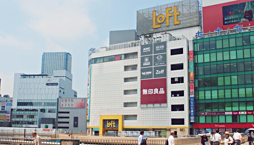 日本東北自由行仙台車站推薦必買必逛文具雜貨loft
