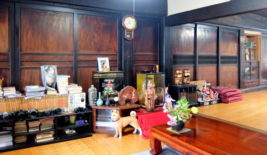 東北一之關・平泉「民宿 三澤」客廳