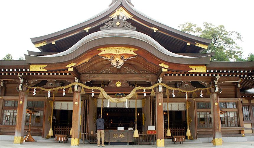 竹駒神社本殿