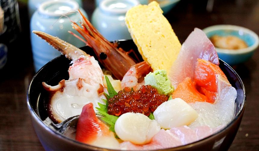 東北松島的海鮮丼