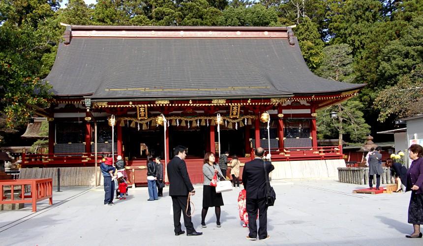 鹽竈神社本殿