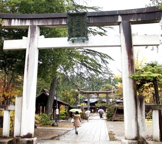 上杉神社鳥居