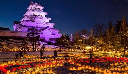 會津繪蠟燭祭