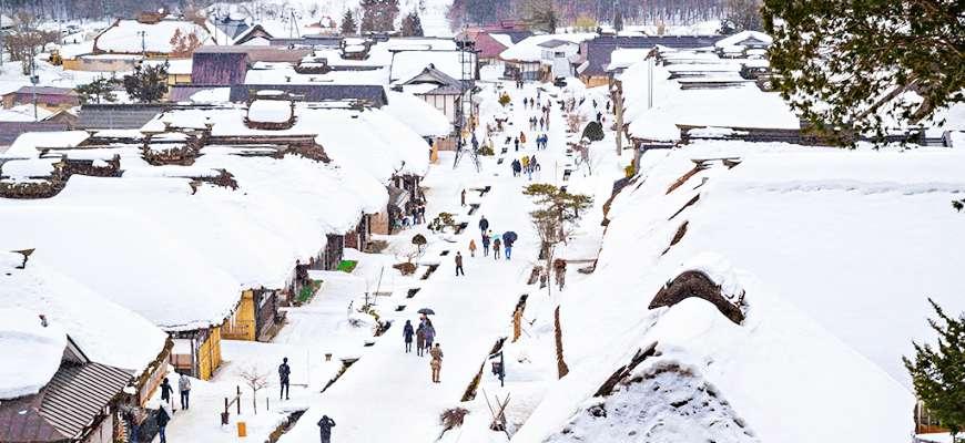 東京出發!日本三大茅葺屋福島大內宿雪祭、會津繪蠟燭祭兩日遊