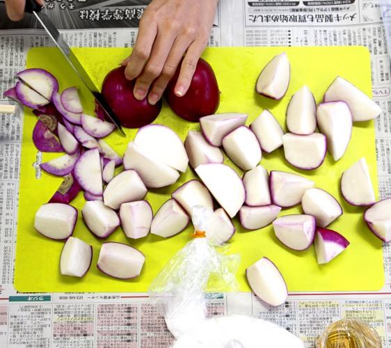 醃漬溫海大頭菜