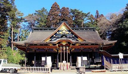 日本國寶大崎八幡宮