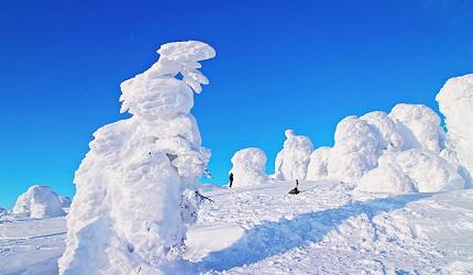 山形藏王樹冰