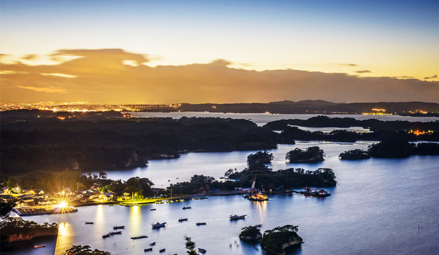 文青日本自由行新熱點必去松尾芭蕉流浪之路主題紀念館岐阜縣大垣市奧之細道終旅之地紀念館中有介紹的日本三景之一的松島美景