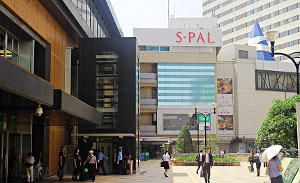 日本东北自由行仙台车站推荐必买必逛西口spal本馆