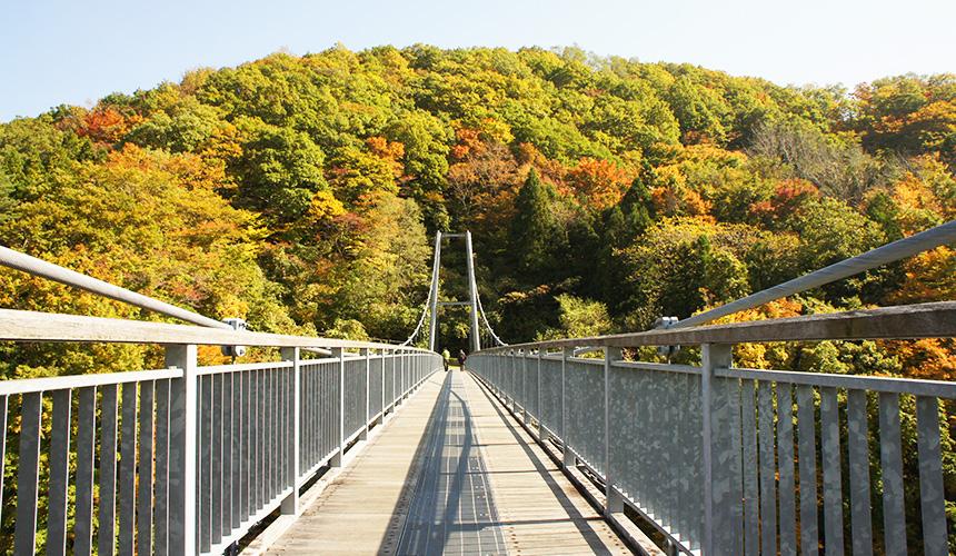 東北地區第一大吊橋山彥吊橋(やまびこ吊り橋)