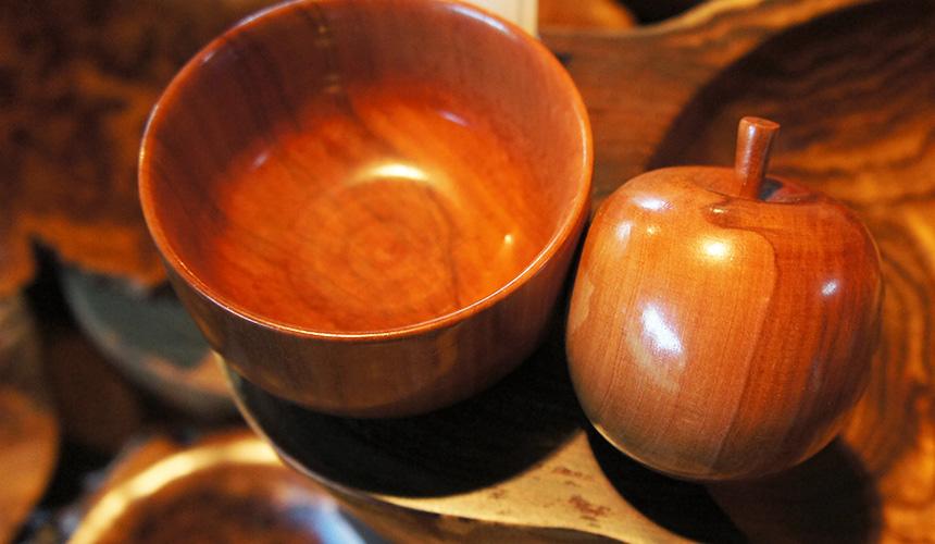 木作工房「無房」的木製器皿
