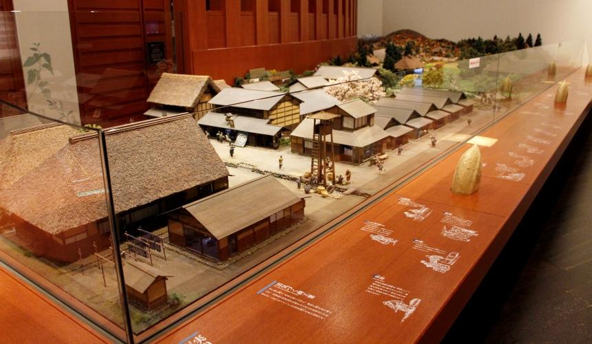 東北山形上杉博物館的模型