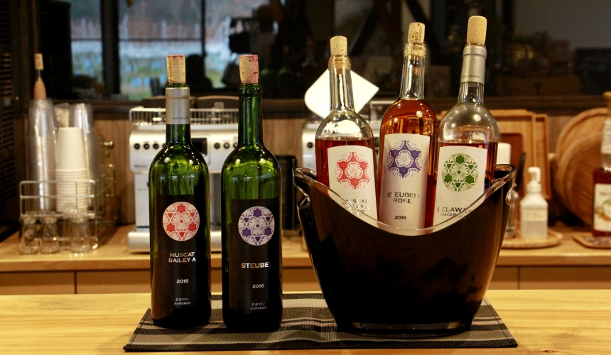秋保產葡萄酒