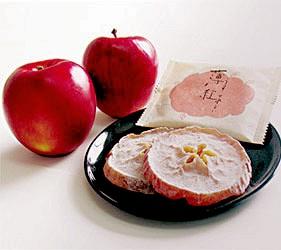 日本東北六縣青森縣薄紅蘋果乾