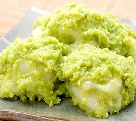日本東北六縣宮城縣毛豆甜點