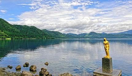 日本秋田仙北市景點推薦田澤湖