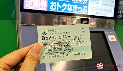 仙台自由行票券推薦「仙台MARUGOTO PASS」二日券的照片