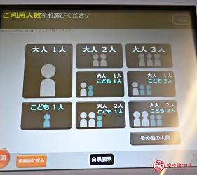 仙台自由行票券推薦「仙台MARUGOTO PASS」二日券的購票操作方式介紹第五步選擇要購票的大人及孩童數量