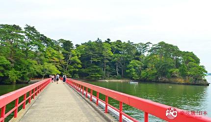 仙台自由行票券推薦「仙台MARUGOTO PASS」二日券可抵達觀光景點松島的「福浦橋」
