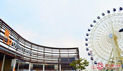 仙台自由行票券推薦「仙台MARUGOTO PASS」二日券可抵達觀光購物景點松島的「MITSUI OUTLET PARK 仙台港」的摩天輪