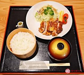 秋田縣大館市美食雞飯便當花善