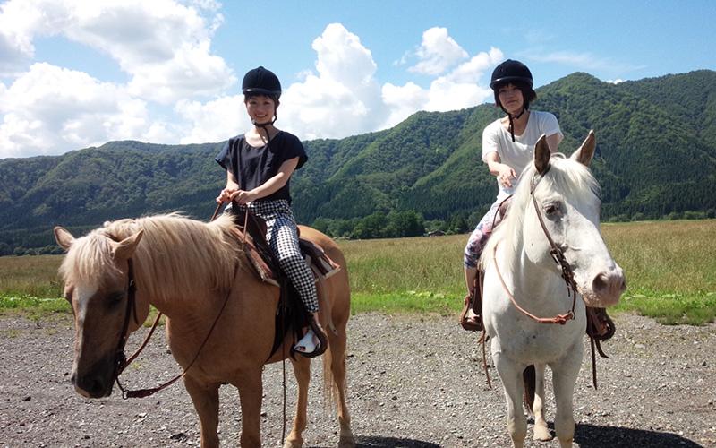 日本山形骑马体验推荐「WAKUWAKU农场前森高原」!乘马课程折扣500円!