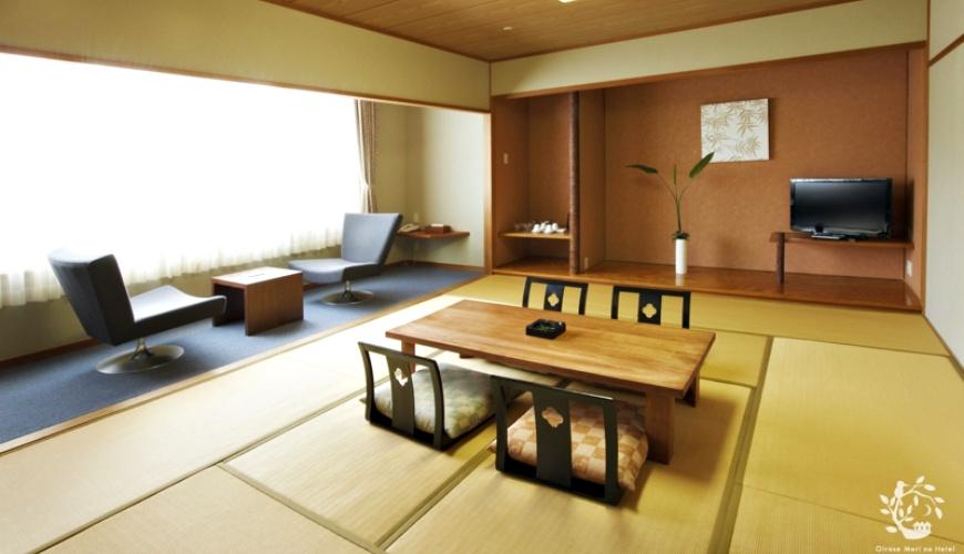 奥入瀬森のホテル