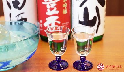 青森居酒屋推荐「酒肴旬 三石」的青森地产清酒