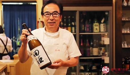 青森居酒屋推薦「酒肴旬 三石」的店家主廚