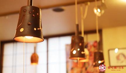 青森居酒屋推荐「酒肴旬 三石」的灯罩