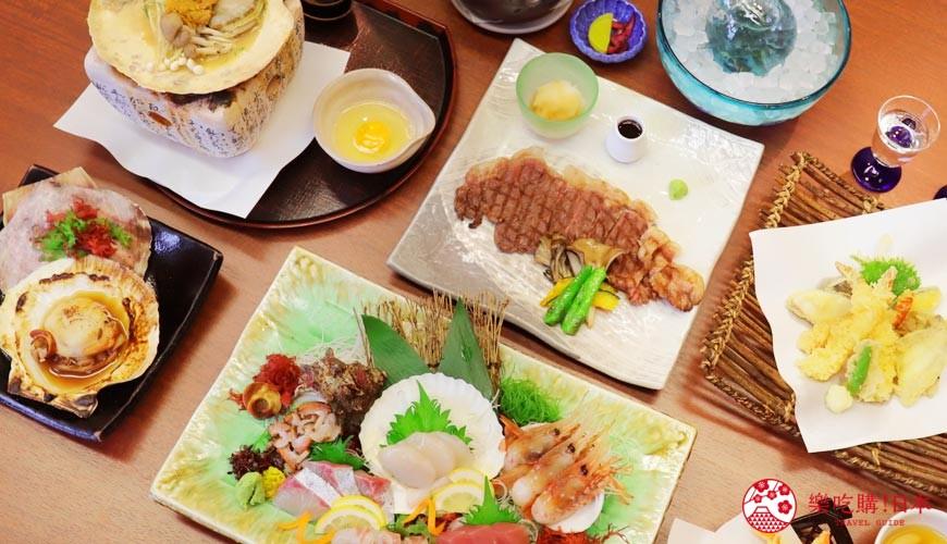 青森居酒屋推荐「酒肴旬 三石」:车站5分钟,生鱼片软嫩新鲜、烤帆立贝超弹牙!