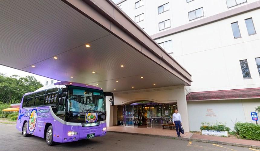 狐狸村住宿推薦!宮城縣度假村飯店「Active Resorts 宮城藏王」的飯店門口