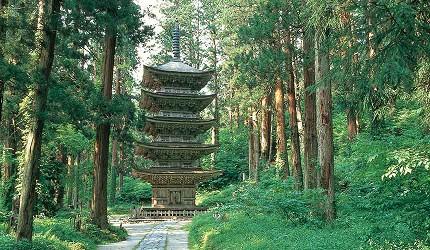 愛酒人士日本自由行的最佳地點山形的出羽三山神社