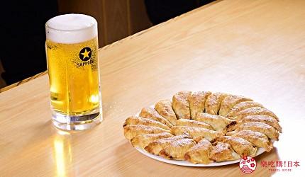 東北福島必吃美食5選爆餡圓盤餃子超多汁、奶油厚片吐司奶香爆發最推薦推介的圓盤餃子與啤酒是絕配