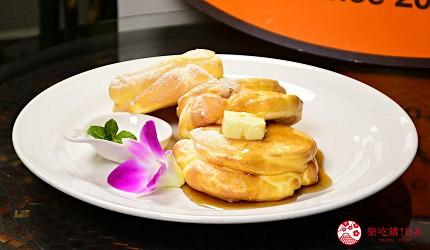 東北福島必吃美食5選爆餡圓盤餃子超多汁、奶油厚片吐司奶香爆發最推薦推介的CANDY-DO超蓬鬆的鬆餅原味鬆餅