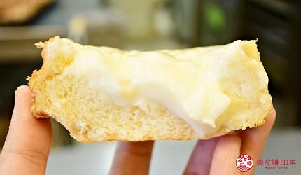 东北福岛必吃美食5选爆馅圆盘饺子超多汁、奶油厚片吐司奶香爆发最推荐推介的奶油厚片吐司横切面