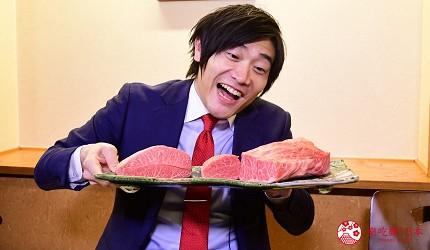 東北福島必吃美食5選爆餡圓盤餃子超多汁、奶油厚片吐司奶香爆發最推薦推介的MouMou亭美味和牛